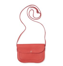 Keecie Leren Tas Cat Chase coral
