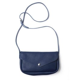 Keecie Leather Bag Humming Along ink blue