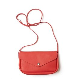 Keecie Leather Bag Humming Along coral