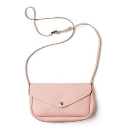 Keecie Leather Bag Humming Along soft pink