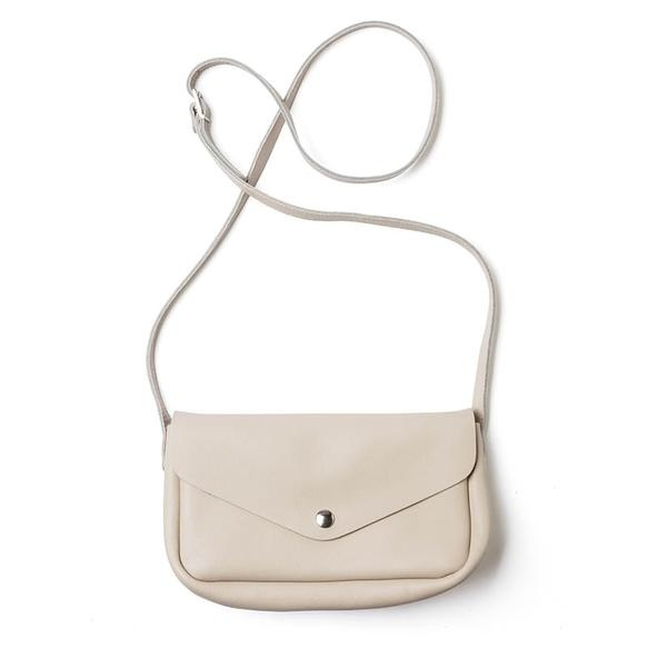 Keecie Leather Bag  Humming Along cement