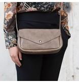 Keecie Leather Bag  Humming Along moss used look