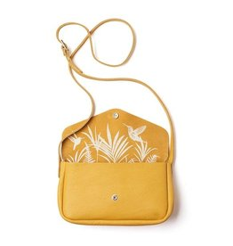 Keecie Leather Bag Humming Along yellow