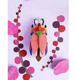 Studio Roof 3D Wall Decoration Giant Lady Beetle