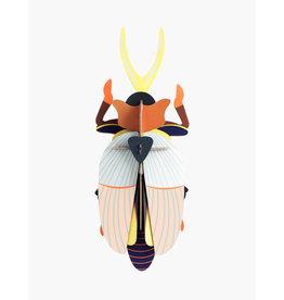 Studio Roof 3D Wanddecoratie Rhinoceros Beetle