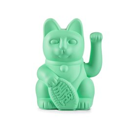 Donkey Products Lucky Cat mint green