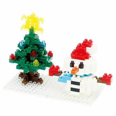 Nano Blocks Bouwpakket Snowman Xmas Tree