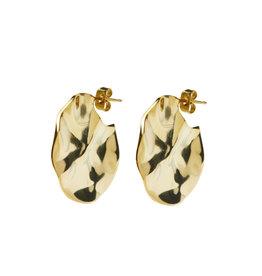 Riverstones Jewels Earrings Coastal Hoops gold plated