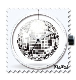 S.T.A.M.P.S Horloge Discoball
