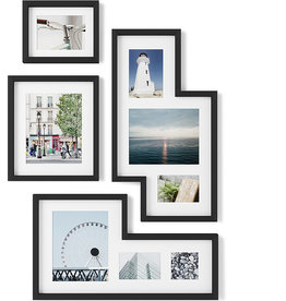 Umbra Mingle Gallery  Fotolijst Set van 4 Black