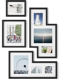 Umbra Mingle Gallery Frames Set of 4 Black