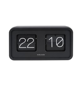 Karlsson Table/wall Clock Bold Flip black