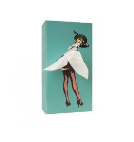 Luf Design Tissue Box Tissue UP Girl mint