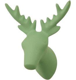 The Zoo Coat Rack Hook Dear Deer Vintage Green