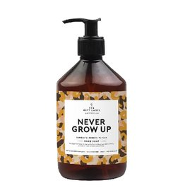 The Gift Label Handzeep  Never Grow Up 500ml