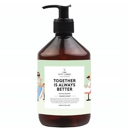 The Gift Label Hand soap Together is always Better 500ml
