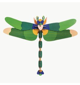 Studio Roof Construction kit Giant Dragonfly Green