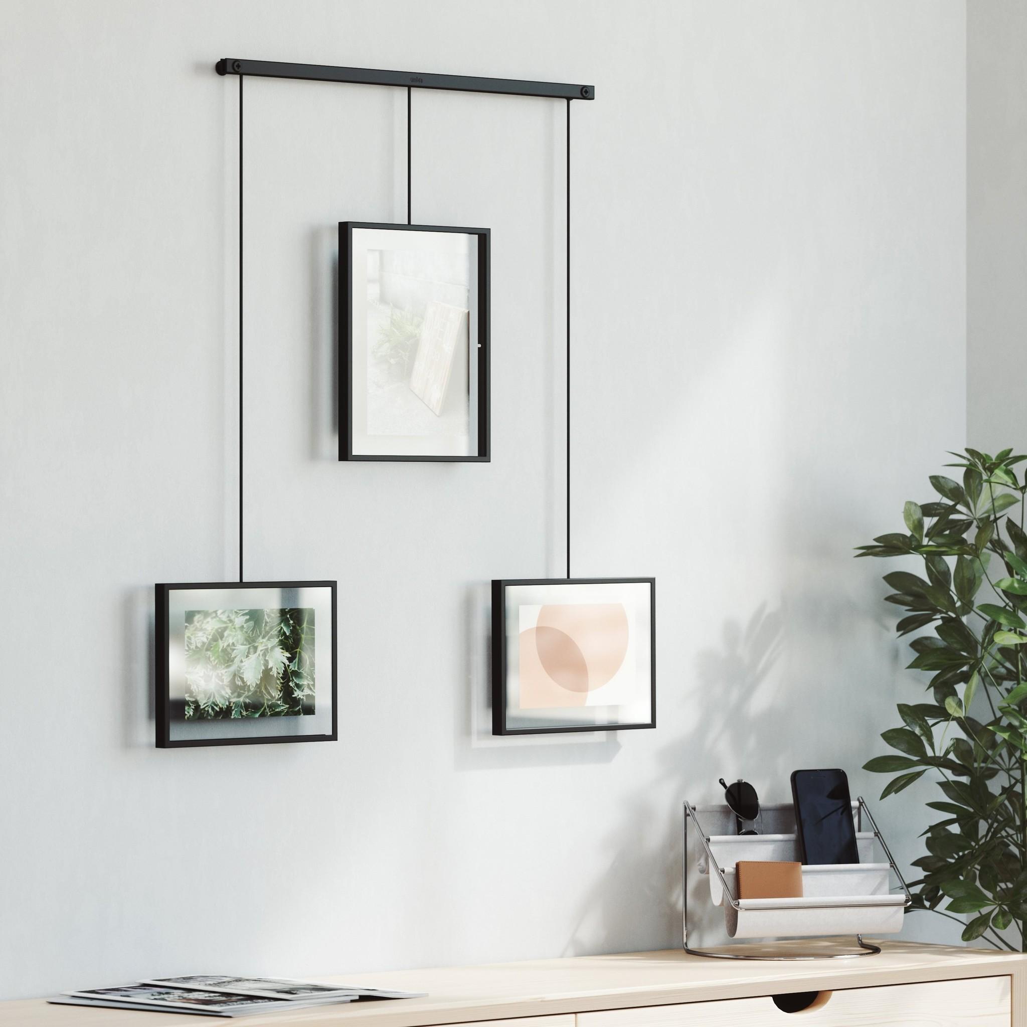Umbra Photo Frame Exhibit 3 multi black
