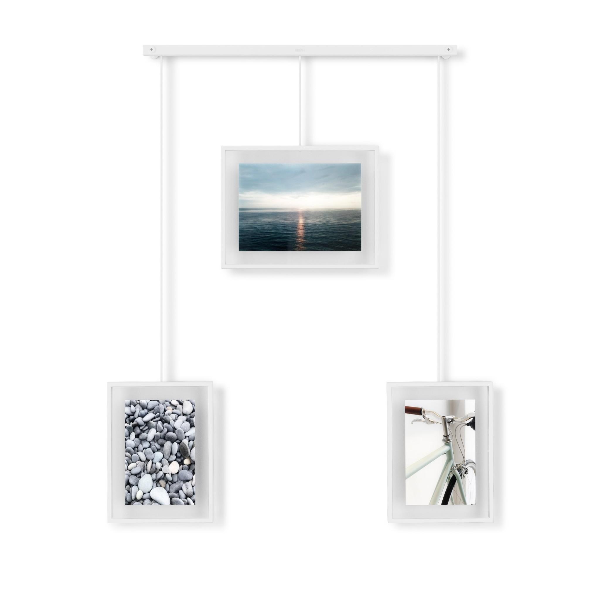 Umbra Photo Frame Exhibit 3 multi white