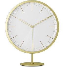Umbra Wall / table clock Infinity brass
