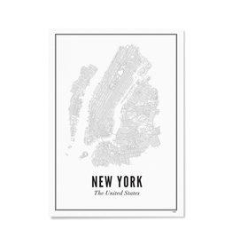 Wijck Poster New York 21 x 30 cm