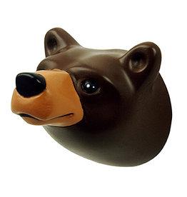 The Zoo Kapstokhaakje Brown Bear