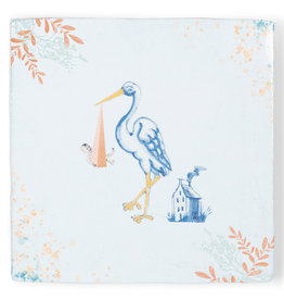 Storytiles  Decorative Tile New Girl in Town Small