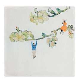 Storytiles  Decorative Tile Wooing Someone Small