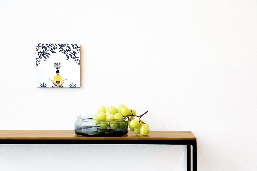 Storytiles   Decorative Tile A Moment Of Silence medium