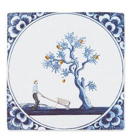 Storytiles  Siertegel The Apple Doesn't Fall Far From The Tree medium