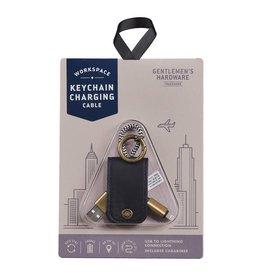 Gentlemen's Hardware Sleutelhanger oplaadkabel