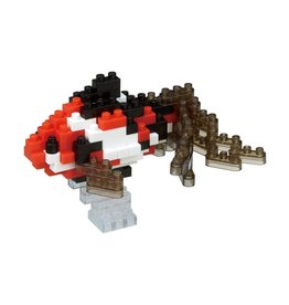 Nano Blocks Building Kit Wakin Goldfish Black