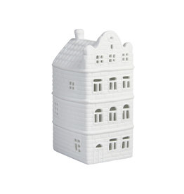 &Klevering Tealight holder Canal house Gable Scrag