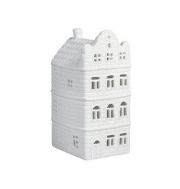 &Klevering Teelichthalter Kanälhaus Halsgiebel