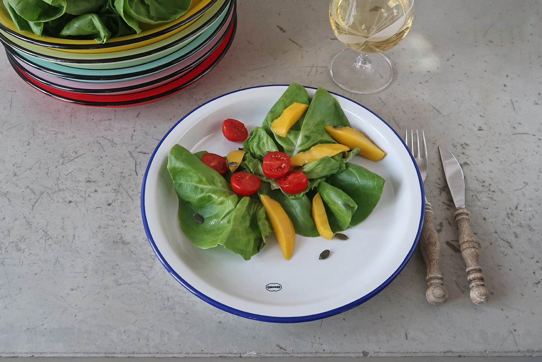 Cabanaz Dinner Plate large wit 27cm