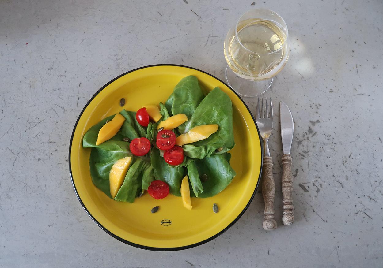 Cabanaz Dinner Plate large yellow 27cm