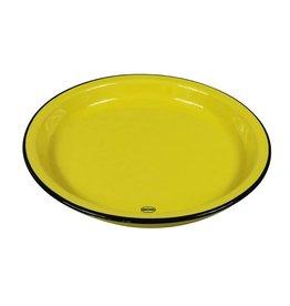 Cabanaz Diner Bord large geel 27 cm