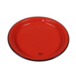 Cabanaz Breakfast plate medium red 22 cm