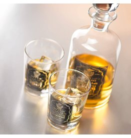 Le Studio Whiskey Glass Set with carafe