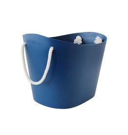Hachiman Storage basket Balcolore medium navy blue