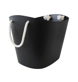Hachiman Storage basket Balcolore large black