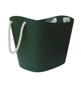 Hachiman Storage basket Balcolore large dark green