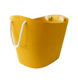 Hachiman Storage basket Balcolore large yellow