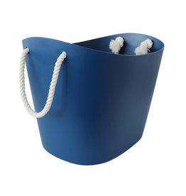 Hachiman Storage basket Balcolore large navy blue