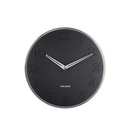 Karlsson Wall Clock New Original Black