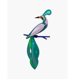 Studio Roof 3D Wanddekoration Paradise Bird Fiji