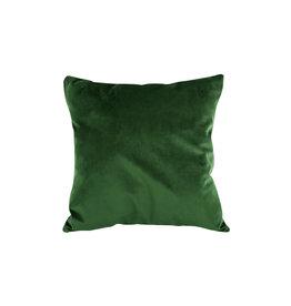 Present Time Dekokissen Tender velvet dark green