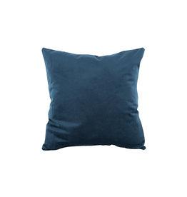 Present Time Dekokissen Tender velvet night blue