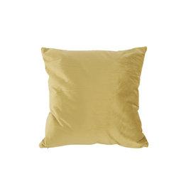 Present Time Cushion Tender velvet olive green