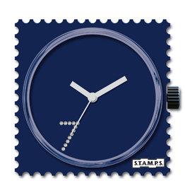 S.T.A.M.P.S Uhr Diamond Blue Seven